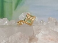 Anhänger mit Peridot Carree in 585 GG